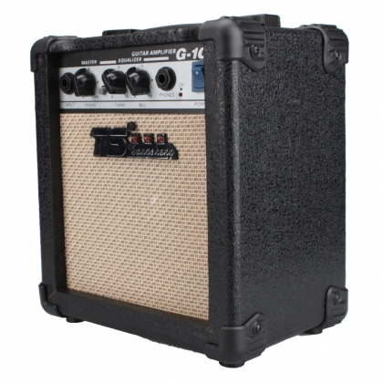 gt 10w guitar amplifier black suitable for acoustic and electric guitars not for bass glarrymusic. Black Bedroom Furniture Sets. Home Design Ideas