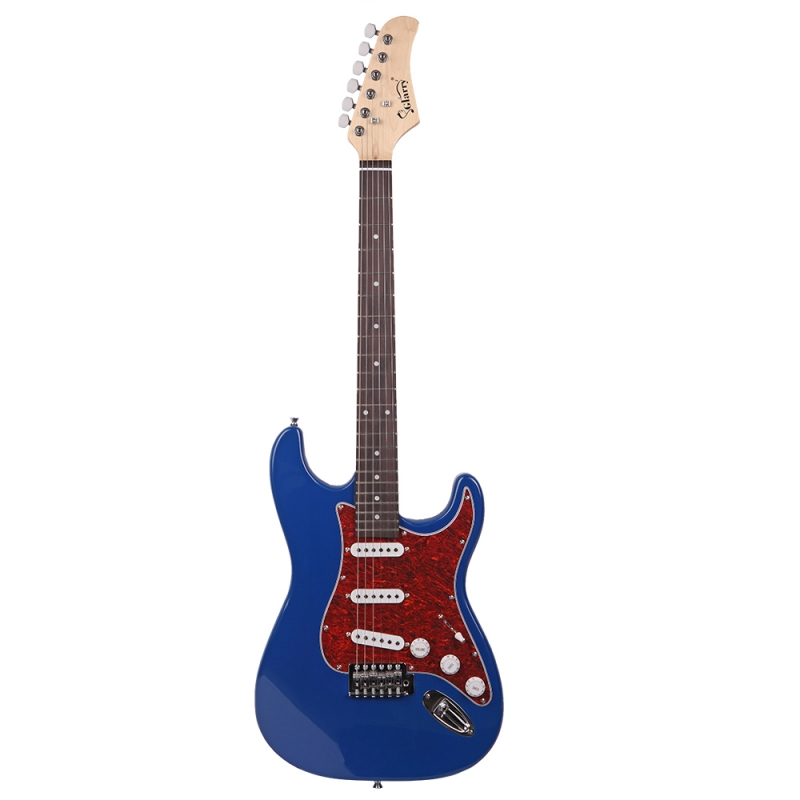 Glarry GST3 Electric Guitar Blue Sunset