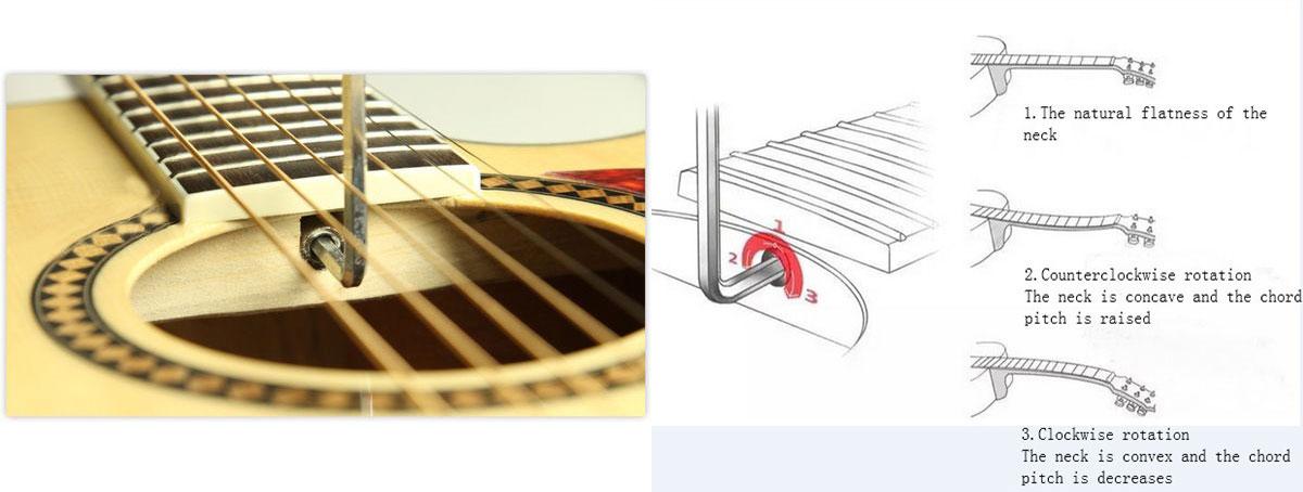 How To Adjust Guitar Neck Glarrymusic Com